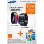 Offre de Remboursement (ODR) Samsung : Jusqu'à 100 € remboursés pour l'achat d'1 Gear Fit + 1 Gear 2 Lite + 1 Smartphone - anti-crise.fr