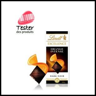 Test de produit Tester des Produits : Lindt Excellence Orange Intense - anti-crise.fr