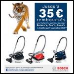 Offre de Remboursement (ODR) Bosch : Jusqu'à 35 € remboursés pour l'achat d'1 aspirateur sans sac - anti-crise.fr