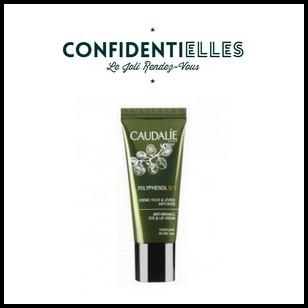 Test de Produit Confidentielles : Crème yeux & lèvres anti-rides Polyphénol C15 de Caudalie - anti-crise.fr