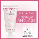 Test de Produit Phyderma : Soin de nuit réparateur anti-âge - anti-crise.fr