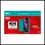 Offre de Remboursement (ODR) Wiko : 40€ remboursés pour l'achat d'un téléphone Wiko WAX + un kit SIM Red - anti-crise.fr