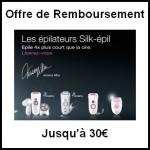 Offre ,de Remboursement (ODR) Braun : Jusqu'à 30 € pour l'achat d'un épilateur Silk Epil - anti-crise.fr