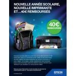 Offre de Remboursement (ODR) Epson : 40 € remboursés pour l'achat d'une imprimante + un lot de cartouches - anti-crise.fr