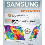 Offre de Remboursement (ODR) Samsung : Jusqu'à 150 € remboursés pour l'achat d'un Smartphones +/ou une tablette - anti-crise.fr