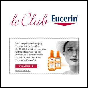 Test de Produit Eucerin : Sun Spray Transparent - anti-crise.fr