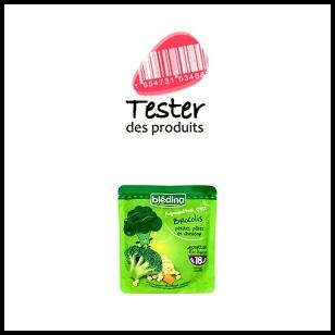 Tester des Produits : Blédina portion légumes - anti-crise.fr