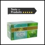 Tests de Produits : Thé Vert Menthe de TWININGS - anti-crise.fr