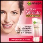 Test de Produit Beauté Test : Soin Miracle Peaux Sèches de Garnier - anti-crise.fr