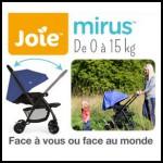 Test de Produit Conso Baby : Poussette Mirus de JOIE - anti-crise.fr