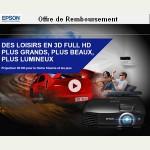 Offre de Remboursement (ODR) Epson : 100 € remboursés pour l'achat d'un projecteur EH-TW5200 - anti-crise.fr