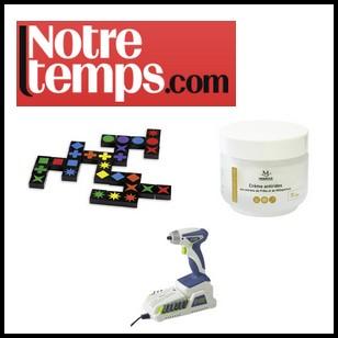 Test de Produit Notre Temps : Les 3 tests du mois - anti-crise.fr