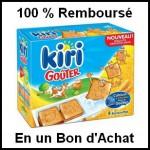 Offre de Remboursement (ODR) Kiri : Kiri Goûter 100 % Remboursé en un Bon d'Achat - anti-crise.fr