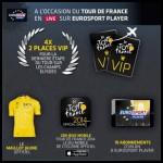 Instants Gagnants + Tirage au Sort Euro Sport : weekend VIP pour 2 pour l'arrivée du Tour de France sur les Champs-Elysées à Gagner - anti-crise.fr