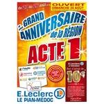 Catalogue Leclerc du 20 au 26 aout