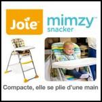 Test de Produit Conso Baby : Chaise Haute Mimzy Joie - anti-crise.fr