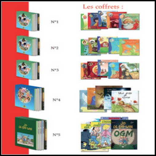 Test de Produit Baby France : Coffrets livres pour enfants Editions Coprin - anti-crise.fr