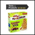 Tests de Produits : Nutri-Grain Croustillant de céréales au chocolat de KELLOGG'S - anti-crise.fr