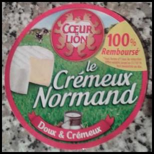 Offre de Remboursement (ODR) Coeur de Lion Le Crémeux Normand : 100 % remboursé en 1 Bon d'Achat - anti-crise.fr