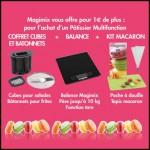 Bon Plan Magimix : Coffret cubes + balance + kit macarons pour l'achat d'un Pâtissier Multifonction - anti-crise.fr