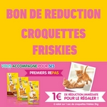 bon de reduction 1 euro croquettes friskies