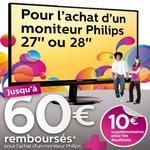 odr - offre de remboursement 60 euros sur moniteur philips