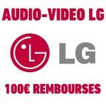 Offre de Remboursement (ODR) LG : Jusqu'à 100 € pour l'achat d'_n produit de la gamme audio-vidéo - anti-crise.fr
