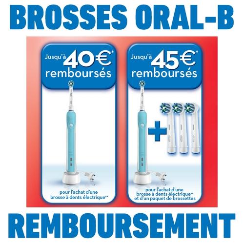Offre de Remboursement (ODR) Oral B : Jusqu'à 45 € pour l'achat d'une brosse à dents électrique - anti-crise.fr