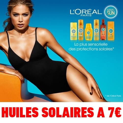 odr - offre de remboursement shopmium huiles solaires loreal sublime sun a 7 euros