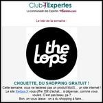 Test de Produit Au Féminin : Chèque d'achat de 10 € pour tester le concept The Tops - anti-crise.fr