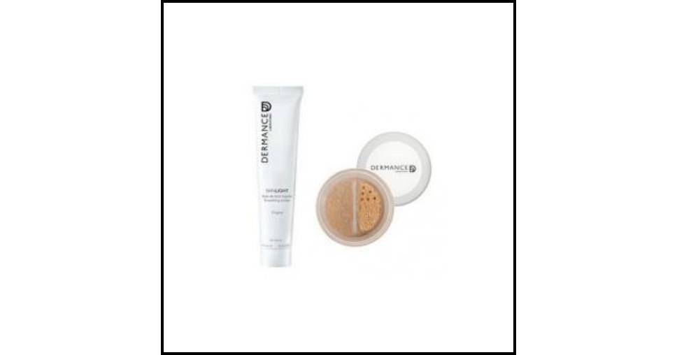 Test de Produit Confidentielles : Base de teint lissante + Fond de teint hydratant Skinlight de Dermance - anti-crise.fr