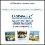 Instants Gagnants Confidentielles : Séjour en Résidence Lagrange Confort + à Gagner - anti-crise.fr