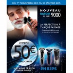 Offre de Remboursement (ODR) Philips : Jusqu'à 50 € pour un rasoir séries 9000 Senso Touch ou Power Touch - anti-crise.fr