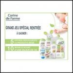 Tirage au Sort Conso Baby : 10 produits Bébé Corinne de Farme à Gagner - anti-crise.fr