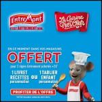 Bon Plan Entremont : 2 râpés achetés = Un Livre de recettes ou un Tablier enfant - anti-crise.fr