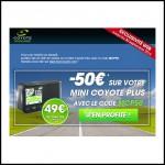 Prolongation : Offre de Remboursement (ODR) jusqu'à 100€ sur Avertisseur Coyote Exclusivité Web - anti-crise.fr