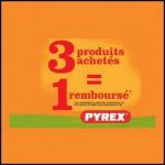 Offre de Remboursement Pyrex : Trois produits achetés = Un 100 % Remboursé - anti-crise.fr