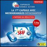 Nouveau Bon de Réduction ma Vie En Couleur : 2,50 € sur un produit Skip Capsules double action - anti-crise.fr