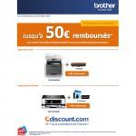 Offre de Remboursement (ODR) Cdiscount : Jusqu'à 50 € sur Multifonctions Brother - anti-crise.fr