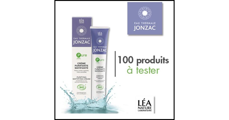 Test de Produit Beauté Test : Crème Purifiante Matifiante - Pure - Eau Thermale Jonzac - anti-crise.fr