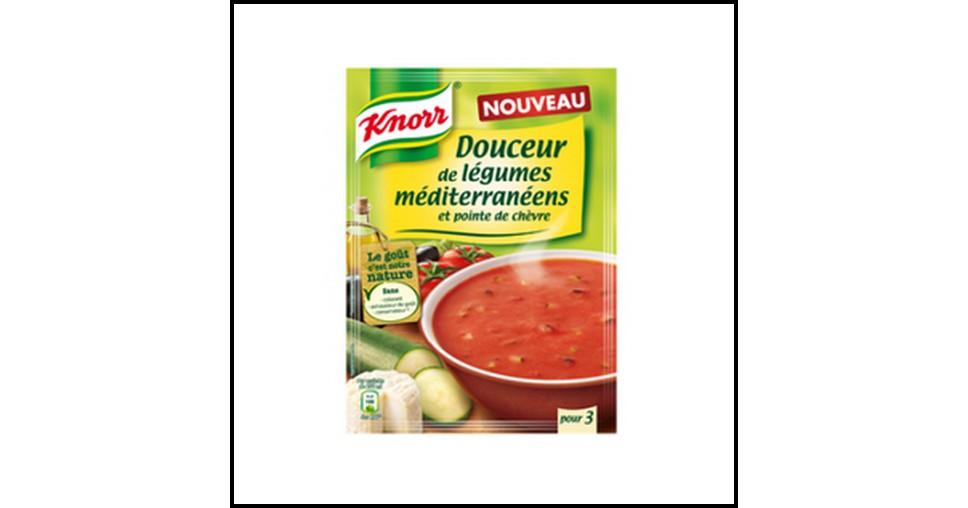 Tests de Produits : Douceur de Légumes Méditerranéens et Pointe de Chèvre de Knorr - anti-crise.fr