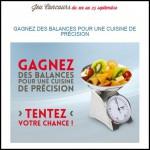 Instants Gagnants Confidentielles : Balance de cuisine EKS à Gagner - anti-crise.fr