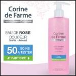 Test de Produit Beauté Test : Eau de Rose Douceur de Corine de Farme - anti-crise.fr