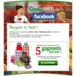 Tirage au Sort Quotidien Carolin sur Facebook : Boîte à bento, sac à gouter, sac à dos pique nique, chariot de cours à Gagner - anti-crise.fr