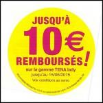 Offre de Rembopursement (ODR) Tena : Jusqu'à 10 € Remboursés sur la Gamme Lady - anti-crise.fr
