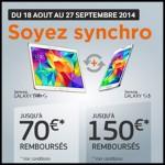 Offre de Remboursement (ODR) Samsung : Jusqu'à 150€ remboursés pour l'achat de deux produits - anti-crise.fr