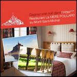 Tirage au Sort Mont Saint Michel sur Facebook : un weekend à l'Hôtel - Restaurant La Mère Poulard - anti-crise.fr