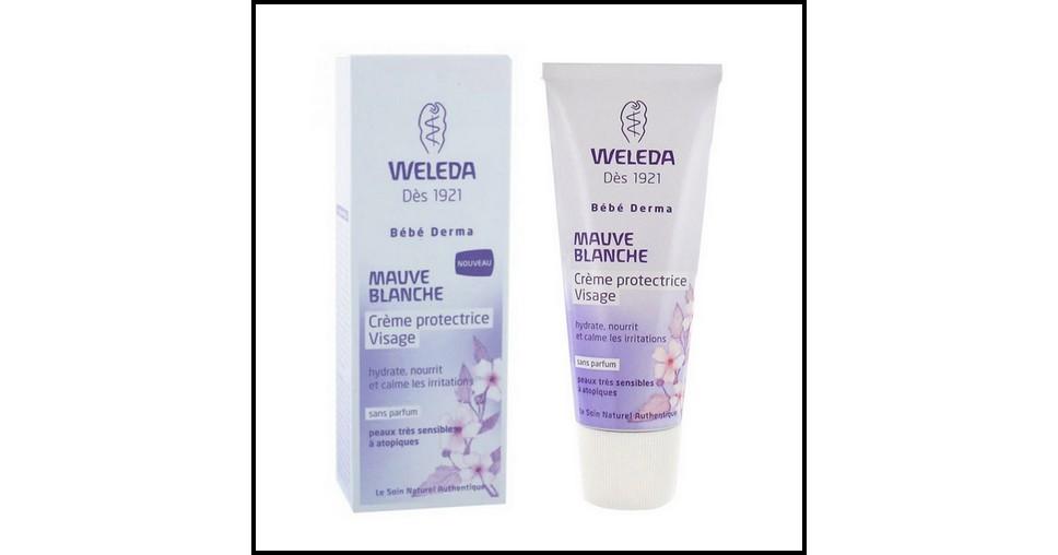 Test de Produit Famili : Crème protectrice visage Weleda - anti-crise.fr