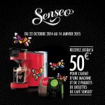Offre de Remboursement (ODR) Senseo : Jusqu'à 50 € sur les machines à Café - anti-crise.fr