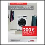 Offre de Remboursement (ODR) AEG : 200 € sur Lavante-séchante OKÖKOMBI - anti-crise.fr